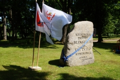 Grand opening of Blinstrub monumental stone 2021.07.24