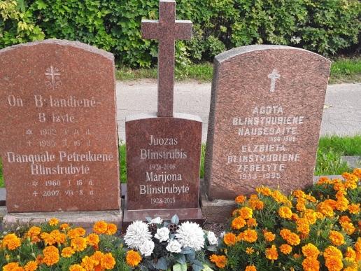 Jonas-Blinstrubis-Marijona-Blinstrubyte-Klaipeda-Joniskes-kapines