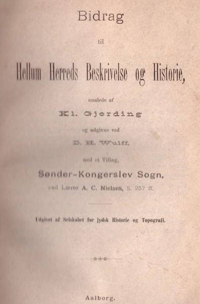 Bidrag til Hellem Herreds Beskrivelse og Historievirselis