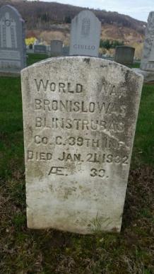 Bronislovas Blinstrubas Waterbury Calvary Cemetery